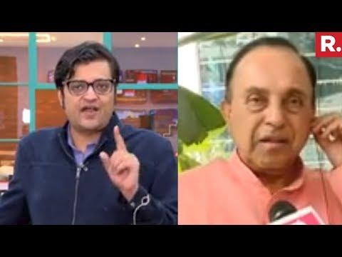 Subramanian Swamy Speaks To Arnab Goswami On #KartiChidambaramArrested