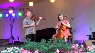 Alasdair Fraser and Natalie Haas (2/6) - Farley Bridge, Grand Etang, Hull`s Reel