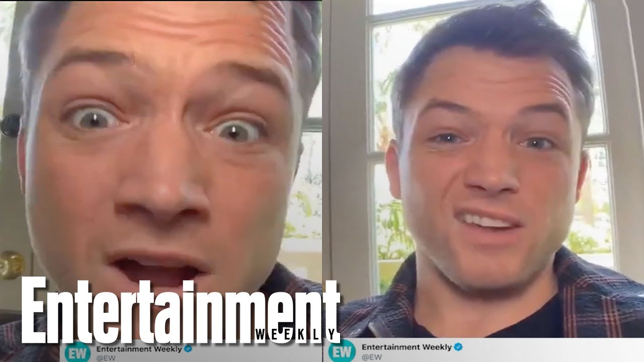 Taron Egerton Answers Your Twitter Questions On 'Rocketman' & More | Entertainment Wee