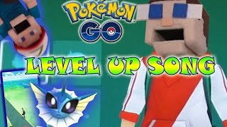 Pokemon Go SONG - LEVEL UP Puppet Steve! Gameplay and Fun