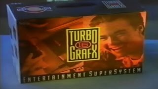 TurboGrafx-16, CD and PC Engine, (1989) Promotional VHS Video, HD