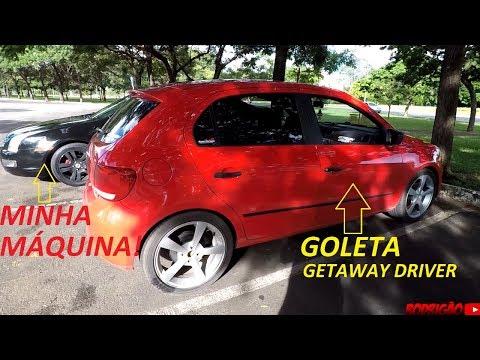 Vai ter RACHA em Brasília! + Goleta top GETAWAY DRIVER