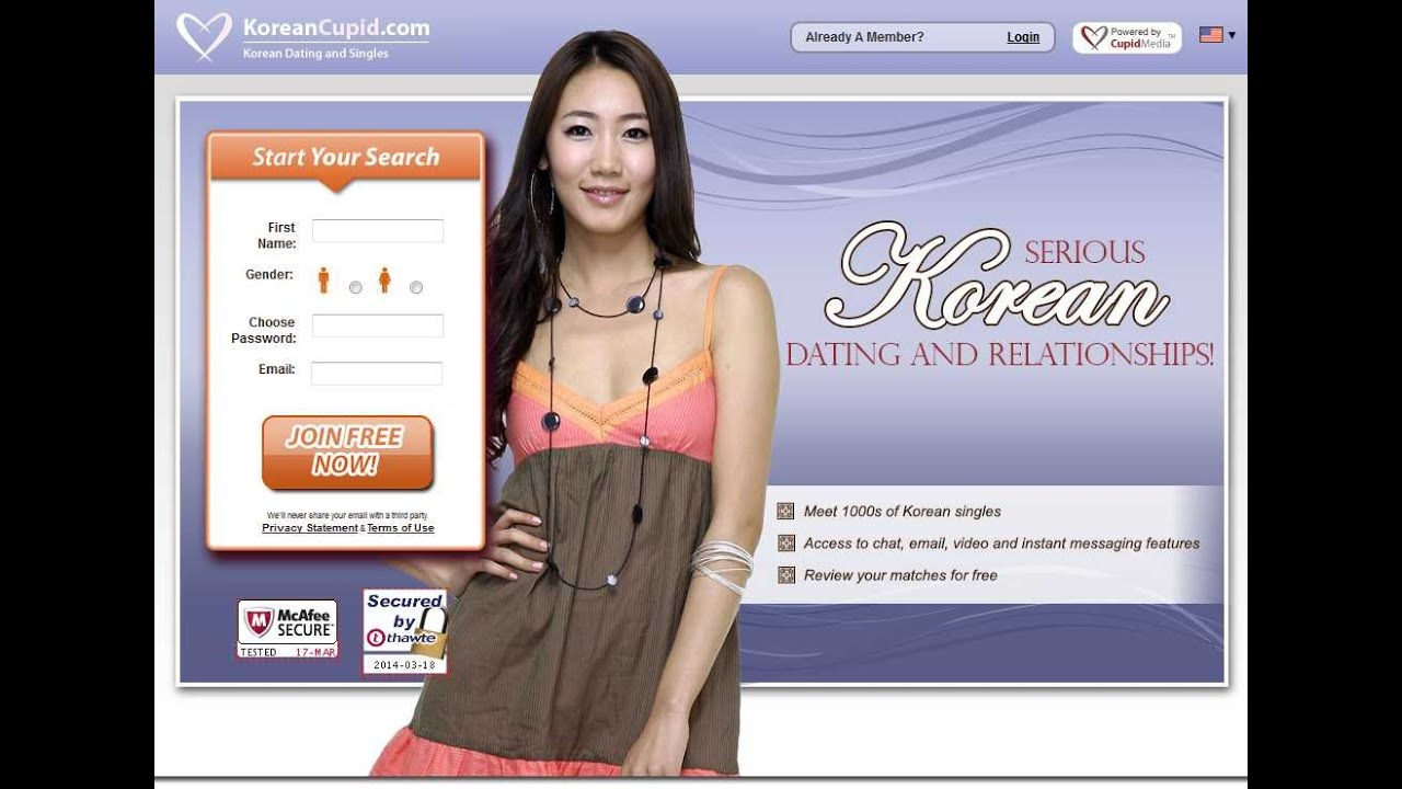 Korean dating site - Free online dating in Korea
