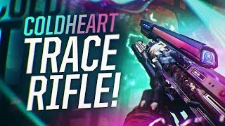 Destiny 2: BEAMING WITH THE COLDHEART | Exclusive Exotic Trace Rifle Gameplay!