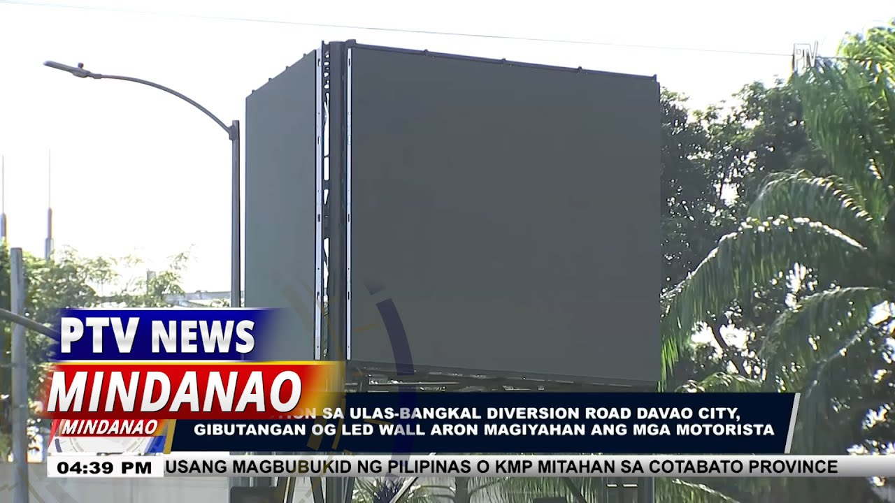 Davao LED Billboard: A Big Help To the Locals