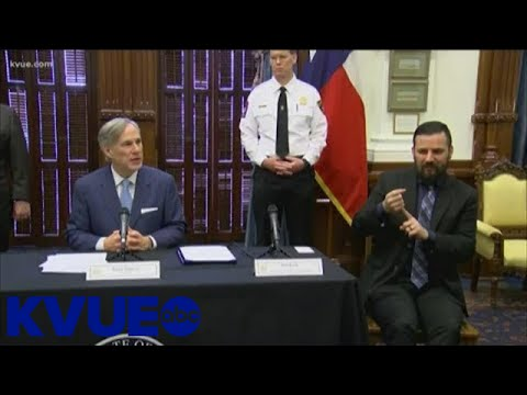 Governor Abbott issues essential services order for Texas