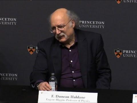 Princeton Physicist Reflects on Nobel Prize