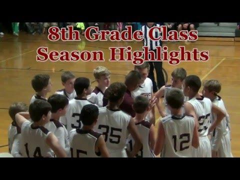 Scott Memorial Middle School Maroons Basketball 2015-16