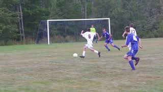 Bucksport at Searsport boys high school soccer