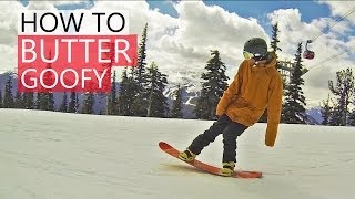 How to Butter on a Snowboard - Snowboarding Tricks