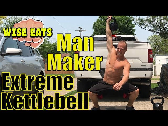 The Man Maker – 7 Minute Kettlebell Workout – Extreme Kettlebell HIIT Cardio Session #1 (Wise Lifts)