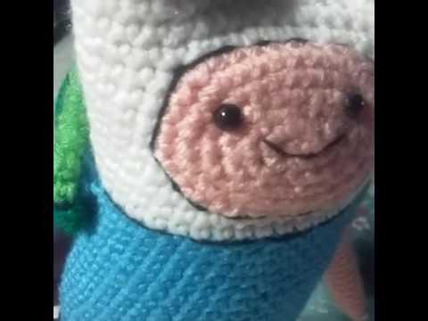 Adventure Time With Finn The Human Amigurumi Crochet Doll Youtube