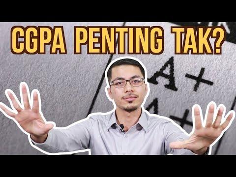 CGPA Penting Tak?