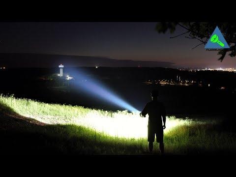 Eight THOUSAND Lumen XHP70.2 Budget Light Forum Giga-Thrower!!!