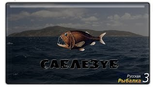 Русская рыбалка 3.99 Саблезуб #1.