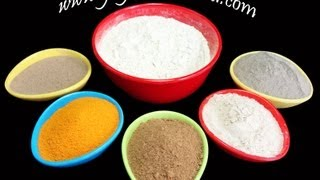 Sunni Pindi - Bathing Powder with Aromatic and Indian Medicinal Herbs - Gayatrivantillu(English Text is available on http://www.gayatrivantillu.com/recipes-2/miscellaneous/sunni-pindi ngredients: Green Gram Flour as base and Aromatic Powders: ..., 2013-03-31T15:30:10.000Z)