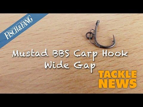 Tackle-News: Mustad BBS Carp Hook Wide Gap