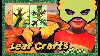 Leaf Tree Crafts🍂🍃 Kids Easy Crafts Creatures  [Sweetie Fella Aleks]