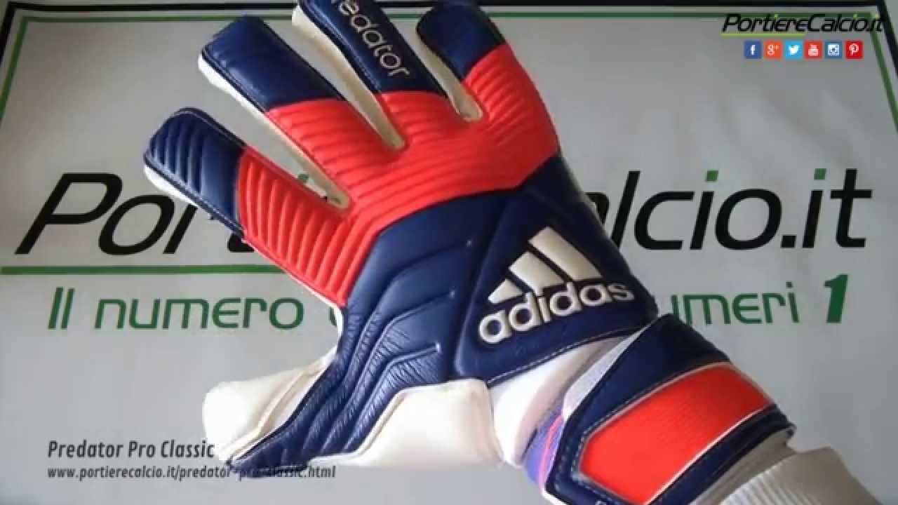 df3a4df43b Guanti portiere Adidas 2015 Predator Pro Classic - YouTube