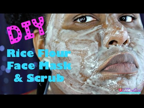 diy-white-rice-flour-face-mask/scrub-for-blemishes-&-acne-scars-|-skin-care