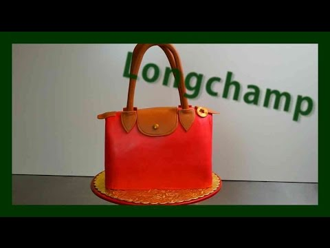 Longchamp handbag cake - Designer Handbag Cake Longchamp - Gcf - YouTube 16dffd953d4f9