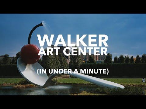 A VISIT TO WALKER ART CENTER & A WALK ALONG THE CREEK  (IN UNDER A MINUTE) - MINNEAPOLIS, MN