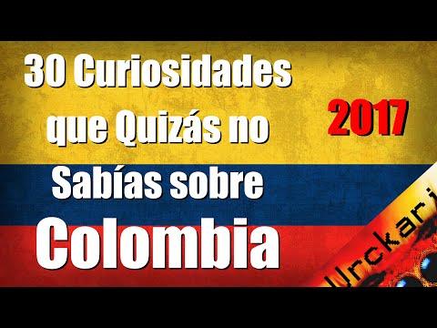 30 Curiosidades que Quizás no Sabías sobre Colombia
