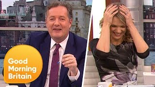 Piers Morgan Goes on a Name-Dropping Rampage! | Good Morning Britain