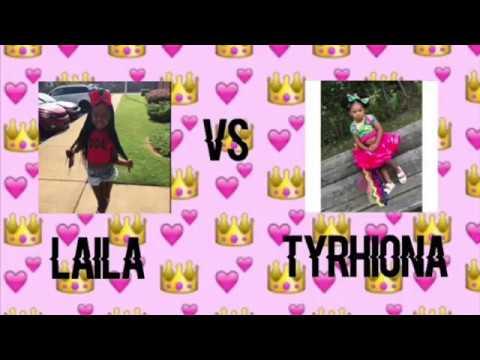 Laila Vs Tyrhiona~musically Dance Battle