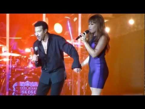 Lionel Richie and Rebecca Ferguson - Endless love.MTS
