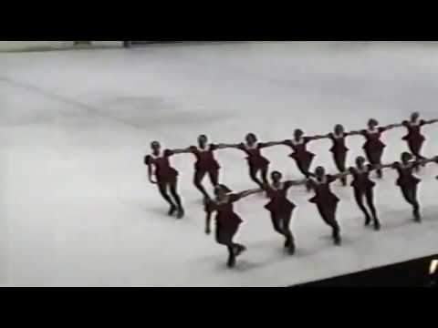 1997 Synchronized Skating Spring Cup Milano Italy Junior and Senior Freestyle/Long Program
