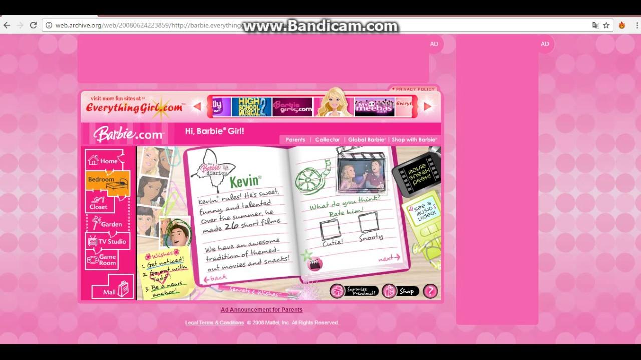 Barbie Games The Barbie Diaries Games Online Youtube