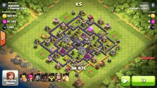 Clash of Clans Valhalla x18x Hog Rider Attack Strategy Part 2