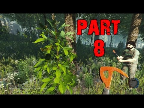 The Forest Gameplay Walkthrough Playthrough Part 8 - Husband and Wife Survival (PC)