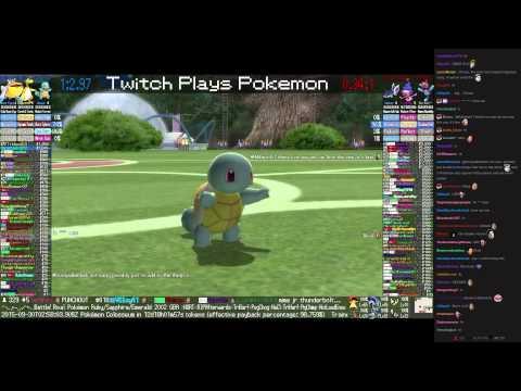 Twitch Plays Pokémon Battle Revolution - Match #25488