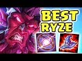 1300+ AP *NEW* META RYZE JUNGLE IS DISGUSTING | RYZE TO THE TOP WITH THIS TOP TIER JUNGLER
