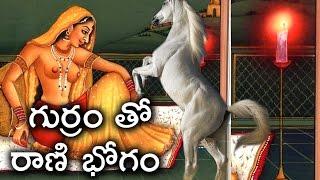 అశ్వమేధ యాగం లో చనిపోయిన గుర్రం తో రాణి భోగం ..!   Ashwamedha Yagam Real Facts Part 01 Telugu