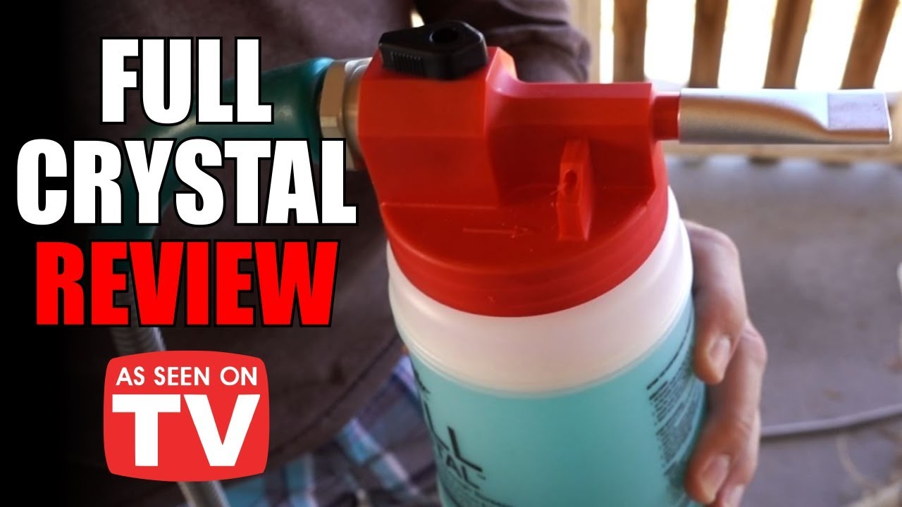 Full Crystal Review As Seen On Tv Window Cleaner Youtube