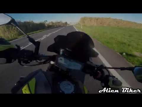 Yamaha MT07 + Akrapovic + Mitas Sport Force Plus + Bombarral 28/12/2019