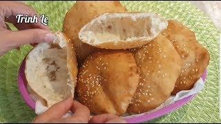 Cách Làm Bánh Tiêu - Làm Bánh Tiêu Nở Phồng Đơn Giản Dễ Làm  By Trinh Le Cuộc Sống Mỹ