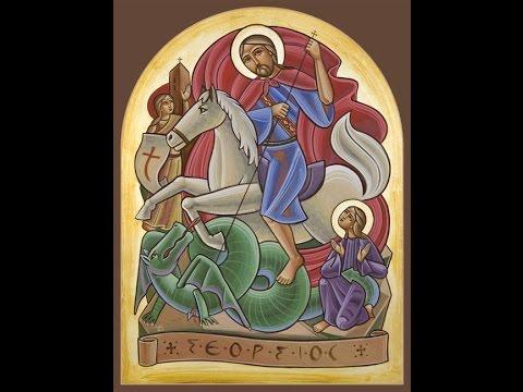 ثلاثة ترانيم لمار جرجس-Three Hymns to St.George-Bekhit Fahim