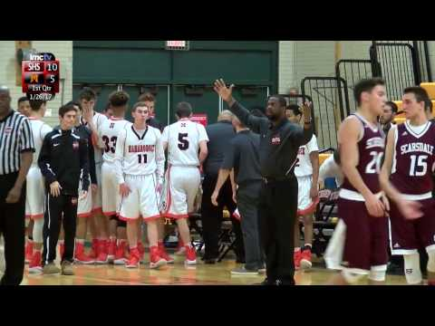 LMC Varsity Sports - Boys Basketball - Scarsdale at Mamaroneck - 1/26/17
