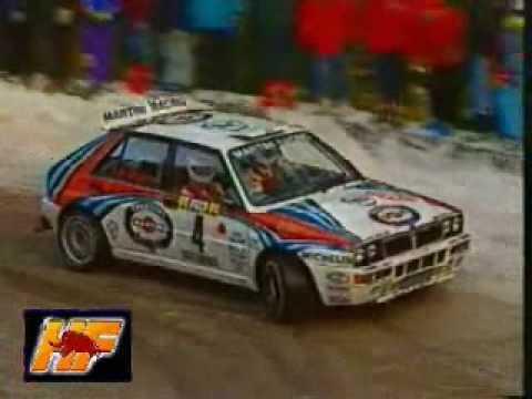 Tribute to 80&90's Lancia's 'Rally Weapon' Delta Integrale