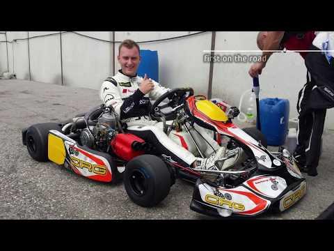 Mychron 5    KZ2 shifter kart   CRG   TM   Speedworld   Data Overlay