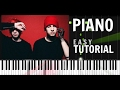 twenty one pilots - Heavydirtysoul - Piano Tutorial / Cover - Synthesia