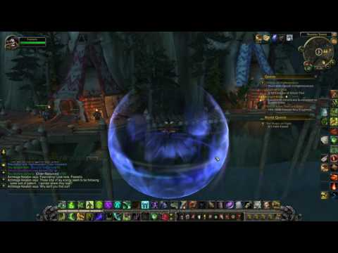 World of Warcraft The Magic of Flight Highmountain Legion World Quest Guide