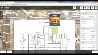 Как создать интерактивный план в Planstery. Урок 1