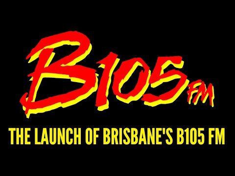 B105 FM Launch - Brisbane, Australia (1990)