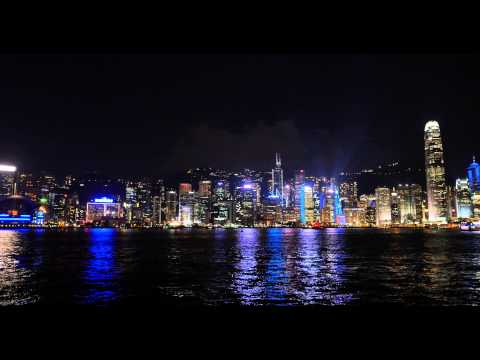 Hong Kong's A Symphony of Lights - 4K video