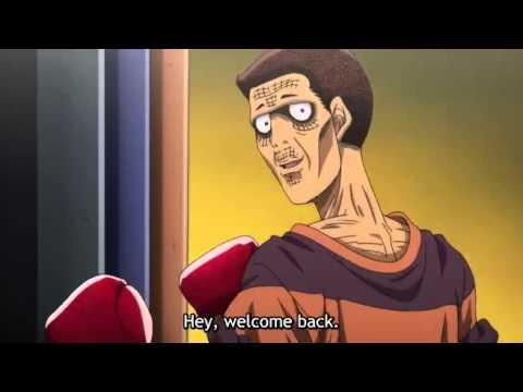 Hajime No Ippo: Rising Funny Moment Aoki (part 1)